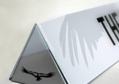 Litho Laminated Corrugated Triangular Mailer