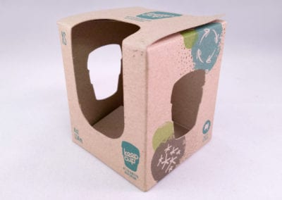 Custom Printed Straight Tuck End (STE) Folding Carton Design with Multiple Cutout Windows