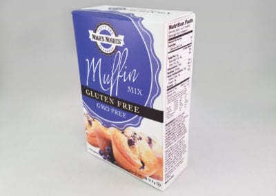 Custom Printed Full Seal End Folding Carton for Food