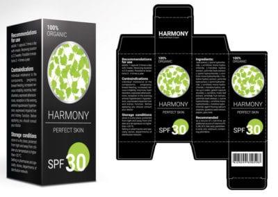 Custom Printed STE Chipboard Box for Skin Care
